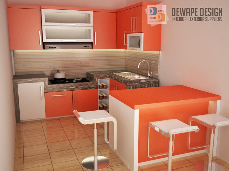 Harga Kitchen Set Termurah Di Malang Dewape Design