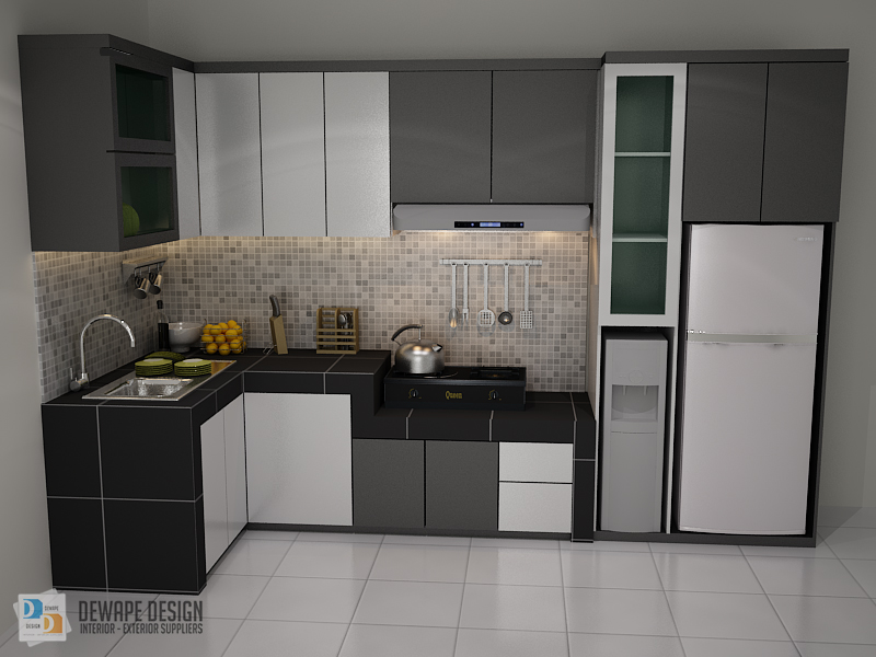 Jasa pembuatan kitchen set malang kitchen set di malang for Kitchen set malang