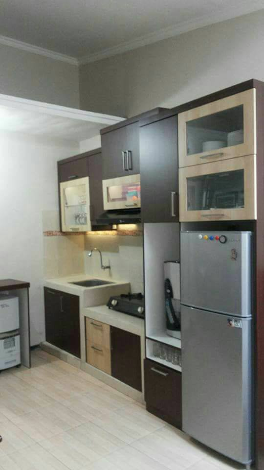 Kitchen Set Minimalis Bahan HPL Malang