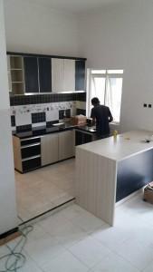 Kitchen Set Sederhana di Malang