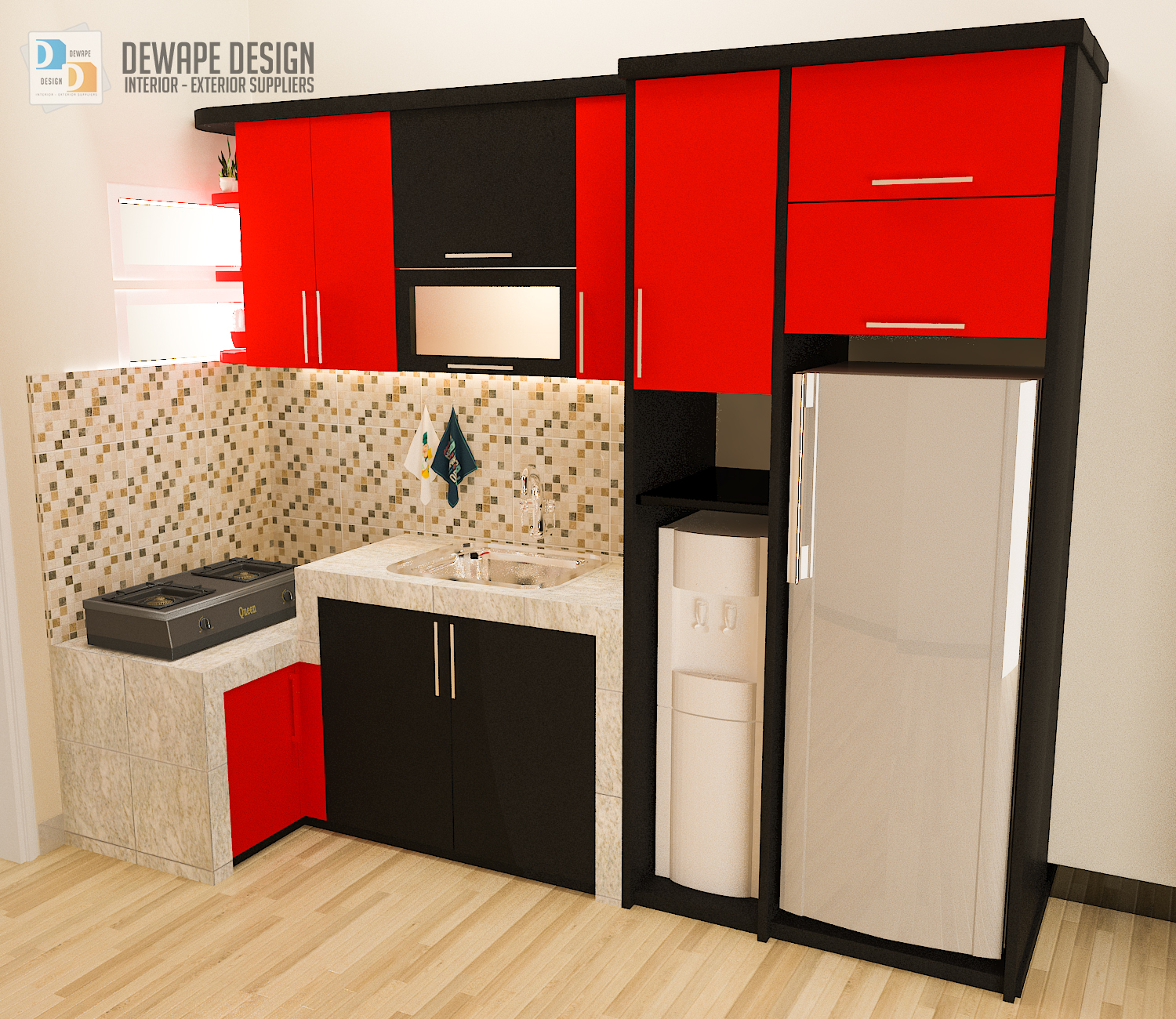 Kitchen Set Bentuk L Malang