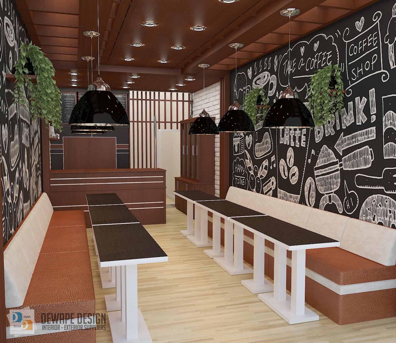 Jasa Desain Interior Cafe Malang