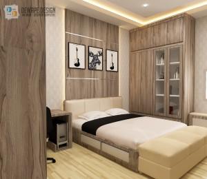 Desain kamar tidur di Malang