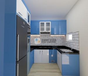 model kitchen set di malang