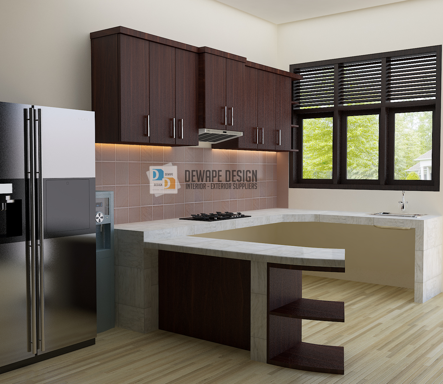 Kitchen Set Minimalis Terbaru