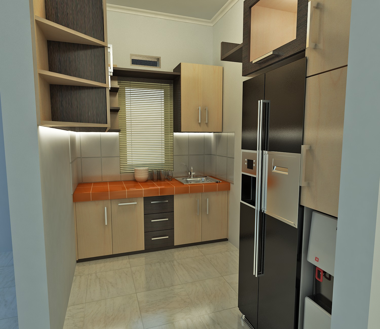 Jual lemari dapur di malang archives kitchen set di malang for Kitchen set jual
