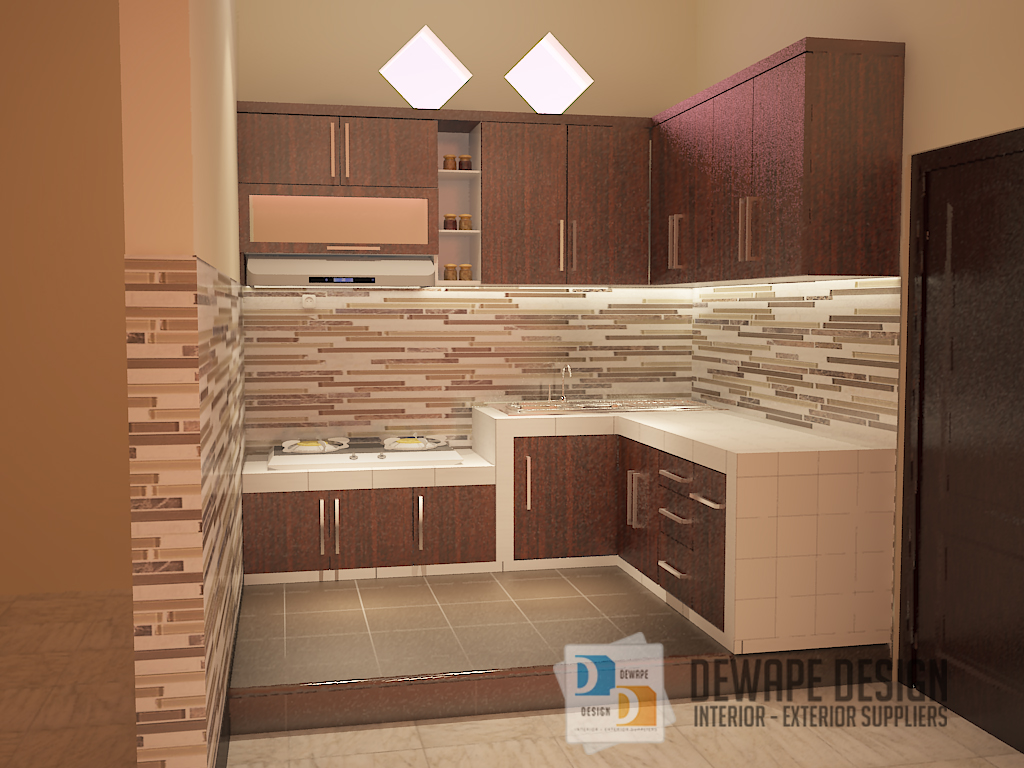 Harga kitchen set minimalis kota malang archives for Kitchen set bekas