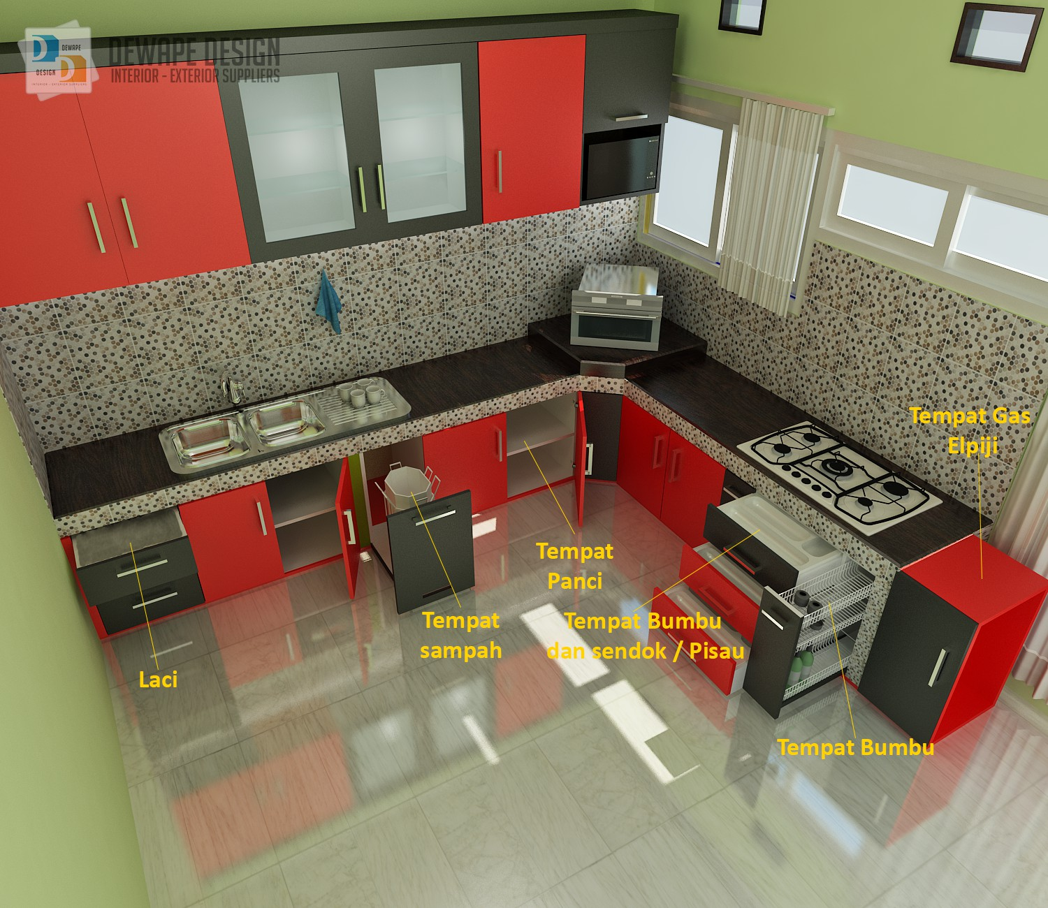 Toko Kitchen Set Di Malang