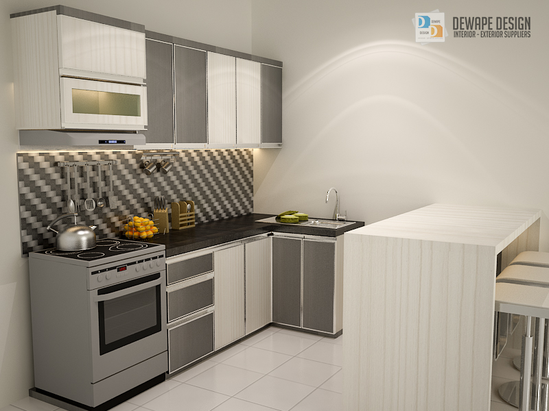 Kitchen set minimalis murah malang dewape design for Aksesoris kitchen set murah