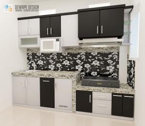Jasa desain kitchen set murah di Malang