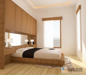 Bed set modern di Malang