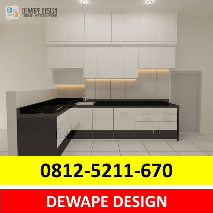Kitchen Set HPL Malang